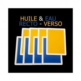 Huile et Eau recto-verso - Ph. Molina
