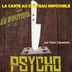 Psycho - La carte au couteau impossible (Iñaki Zabaletta) en français - Téléchargement immédiat