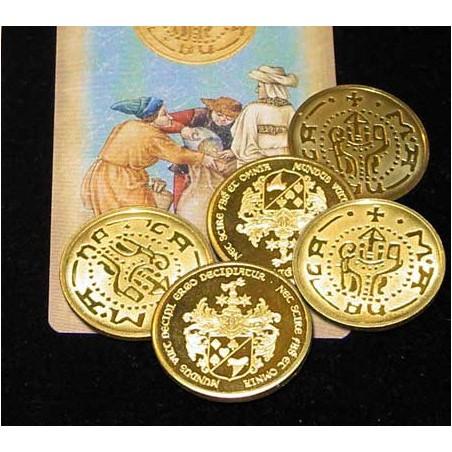 Vintage coin - lot de 5