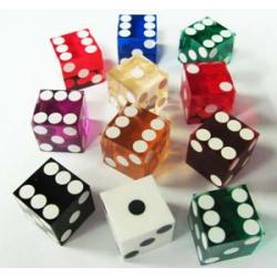 Dés de Casino standards ou personalisables
