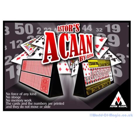 Astor ACAAN (mode d'emploi)