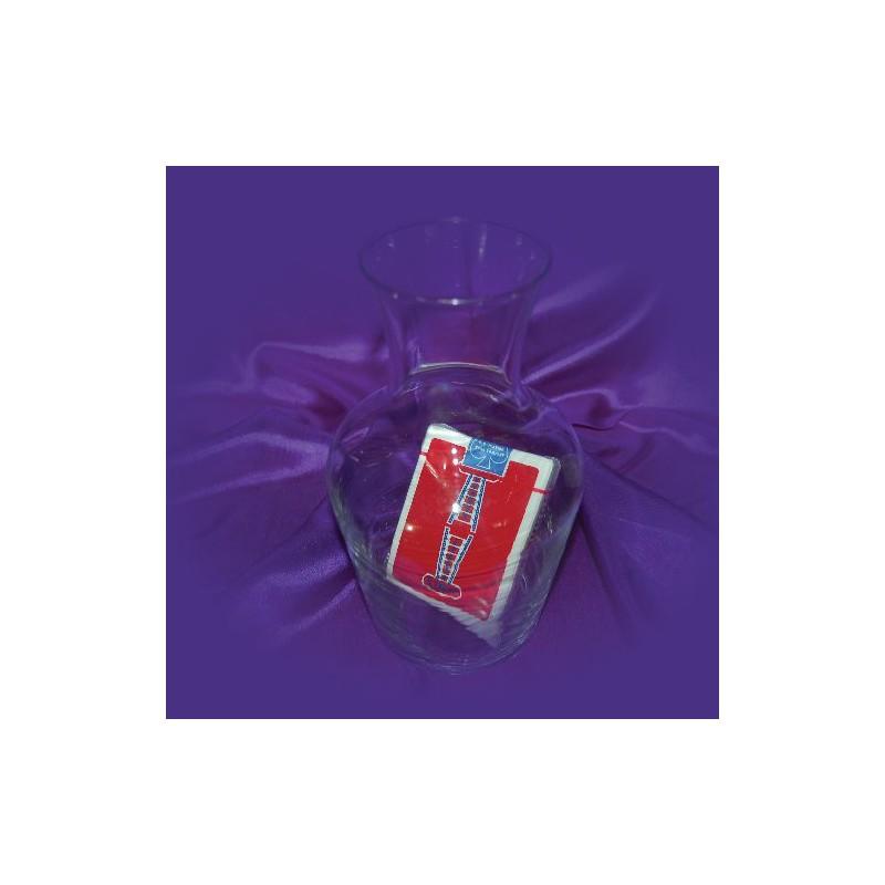 Jeu de cartes scellé dans la bouteille (Explication)