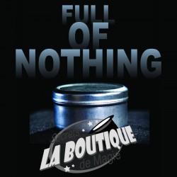 Full of nothing (mode d'emploi) - Téléchargement immédiat