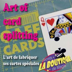 Art of card splitting - Fabriquer ses cartes spéciales (vidéo en français)- Téléchargement immédiat
