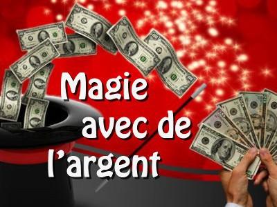 Magie avec de l'argent